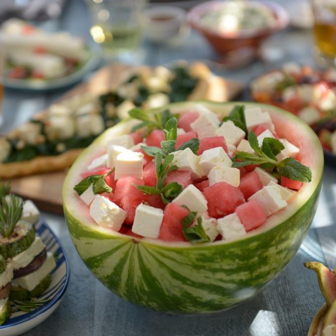 Patros-Melonensalat