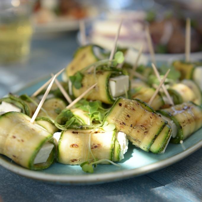 Patros-Zucchini-Röllchen